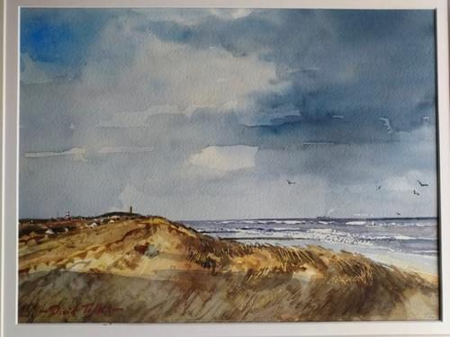 Shower approaching Happisburgh