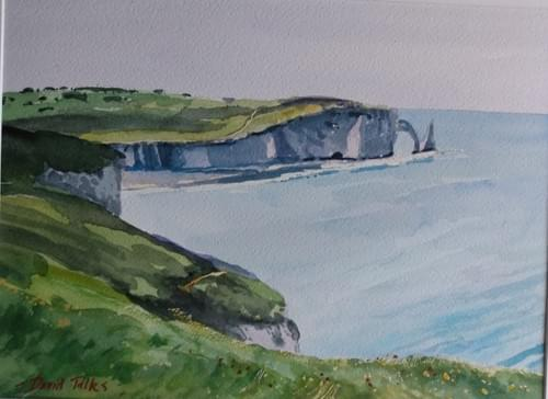 Near Etretat, Normandy