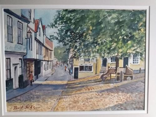 Stamp Corner, Elm Hill, Norwich