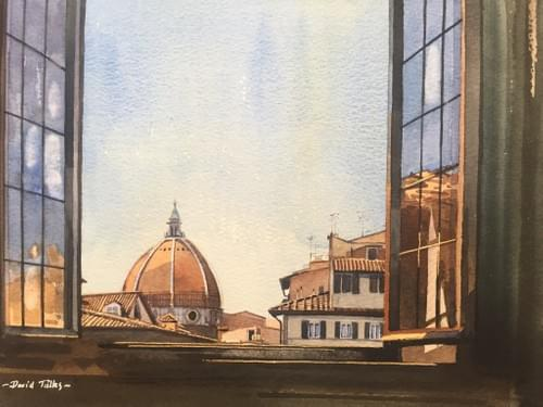 Room with a view in Florence