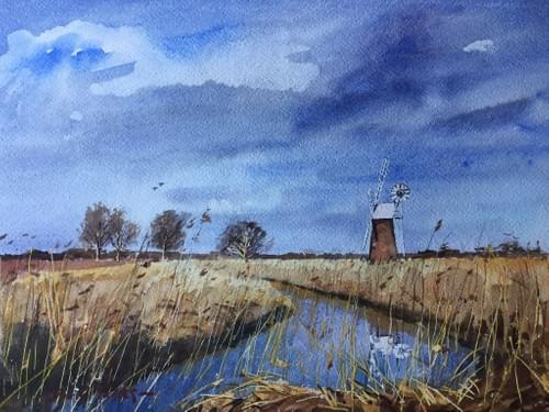 A Norfolk mill - by the River Ant