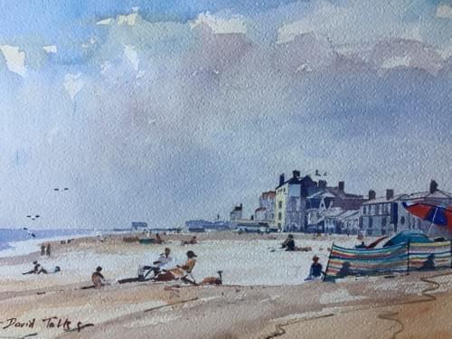 A summer's day at Aldeburgh