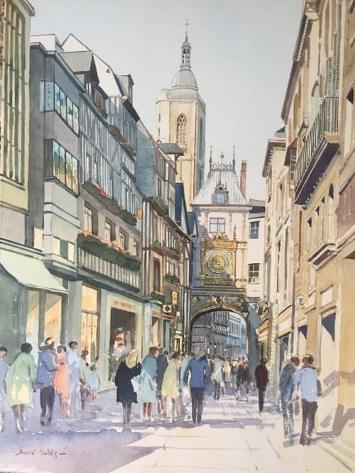Le Gros Horloge, Rouen, France