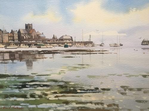 Barfleur Harbour, Normandy