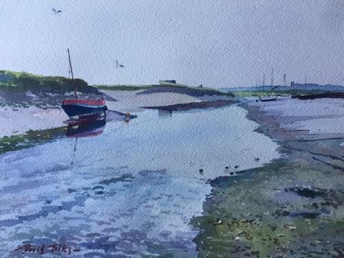 Morston - the ebb tide