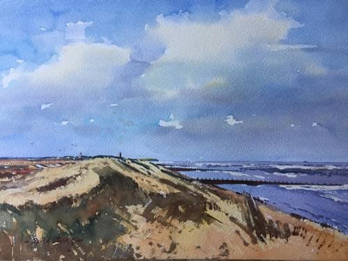 The Norfolk Coast near Happisburgh