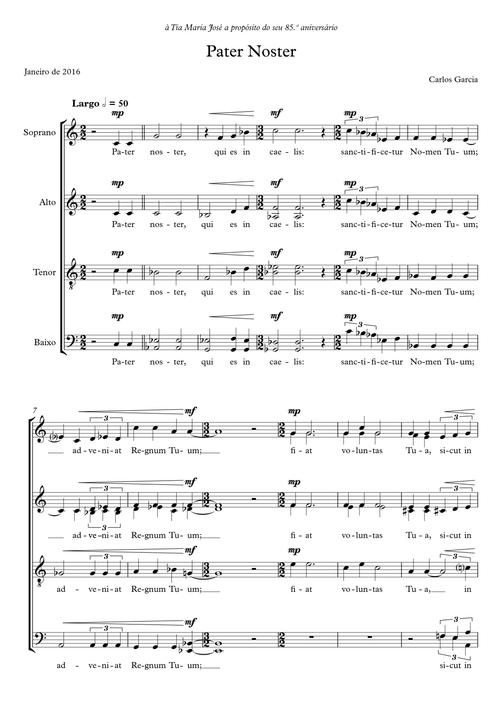 Pater Noster | mixed choir