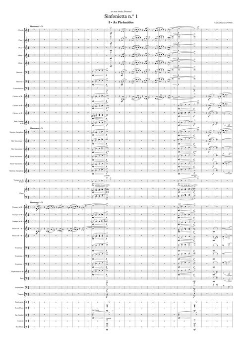 Sinfonietta n.º 1 | Wind Orchestra