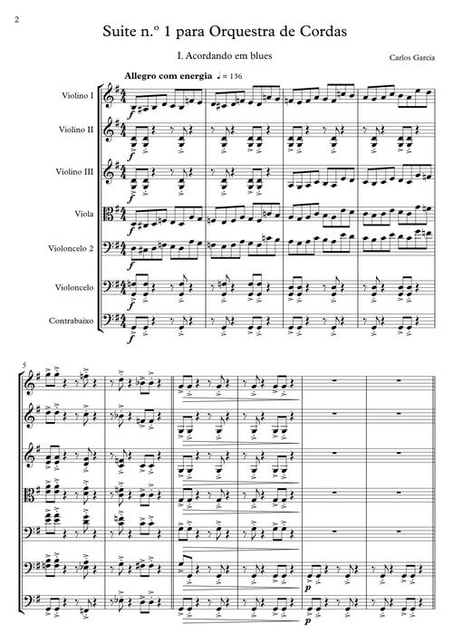 Suite n.º 1 | String Orchestra