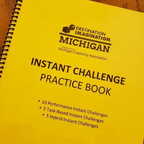 Instant Challenge Practice Book