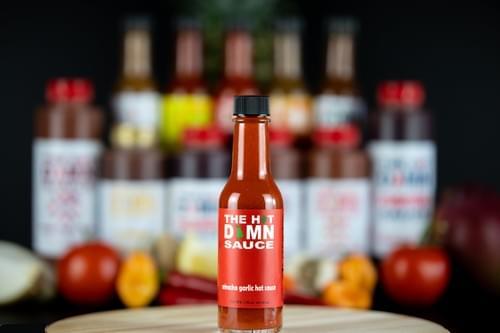 The Hot Damn Sauce: Sriracha Garlic Hot Sauce
