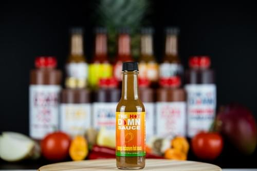 The Hot Damn Sauce: Mango Habanero Hot Sauce