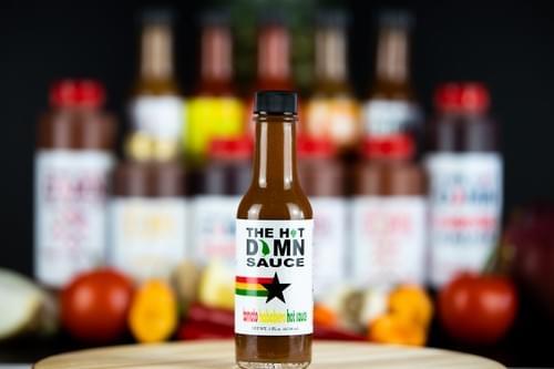 The Hot Damn Sauce: Tomato Habanero Hot Sauce