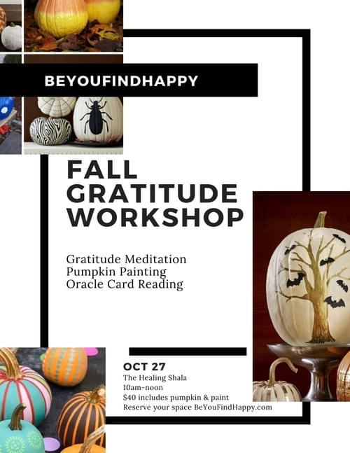 Fall Gratitude Workshop
