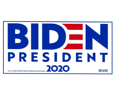 Biden Bumper Sticker - Rectangle