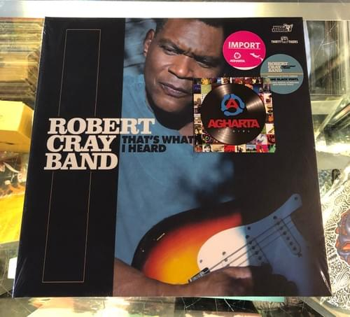 Robert Cray Band- That's What I Heard LP On Vinyl [IMPORT]