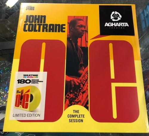 John Coltrane- Ole' Coltrane LP On Colored Vinyl