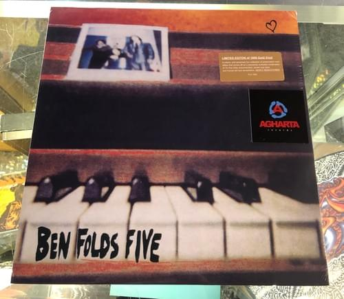 Ben Folds Five- Self Titled LP On Turquoise Or Gold Vinyl