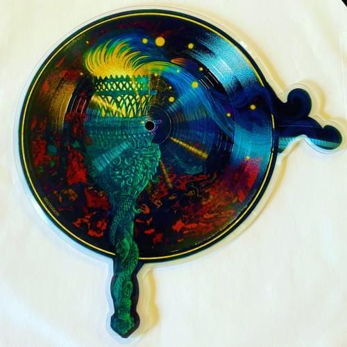 Mastodon- Fallen Torches On Shaped-Picture Disc Vinyl- Only 6500[Pre-Order 8/13/2021]