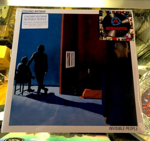 Chicano Batman- Invisible People LP On Pacific Blue Or White Vinyl
