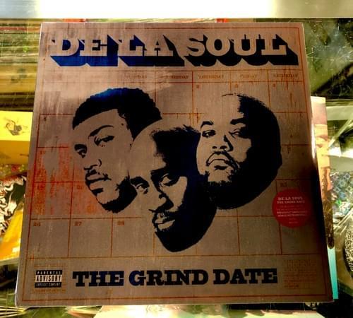 De La Soul - The Grind Date 2XLP On Vinyl- Bonus Side D