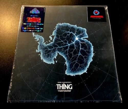Ennio Morricone-The Thing & John Carpenter-Lost Cues: The Thing Extras OST LP On Colored Vinyl