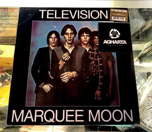 Television - Marquee Moon 2XLP On Blue Vinyl