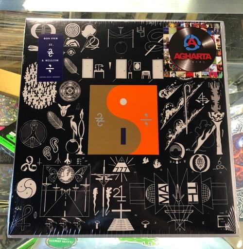 Bon Iver- 22, A Million LP On Vinyl In Gatefold Jacket