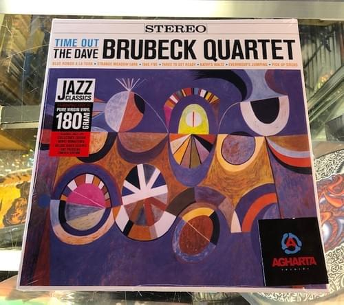 The Dave Brubeck Quartet - Time Out/Take Five LP On Black, Orange Colored Or Yellow Vinyl[IMPORT]