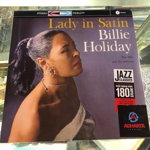 Billie Holiday - Lady In Satin LP On Vinyl