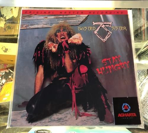 Twisted Sister - Stay Hungry LP On Vinyl [MOFI Press]