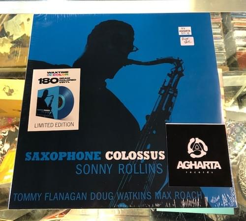 Sonny Rollins - Saxophone Colossus LP On Blue Colored Vinyl Or Black Deluxe [IMPORT]