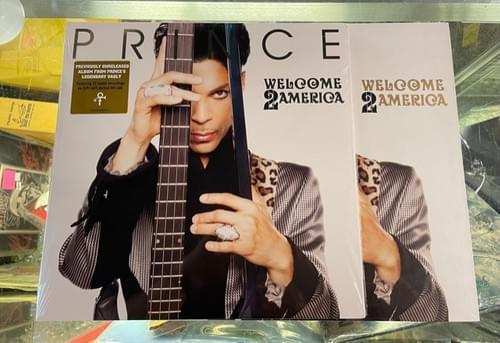 Prince- Welcome To America 2xLP On Vinyl Also Deluxe Box Set W/2LP-CD & Blu Ray