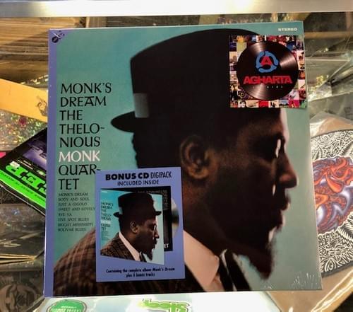 Thelonious Monk Quartet - Monk's Dream LP On Vinyl Includes Bonus CD