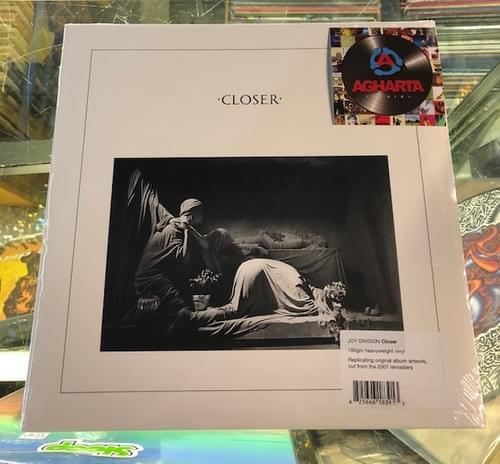 Joy Division - Closer 40th Anniversary Edition LP On Limited Edition Clear Vinyl [IMPORT]