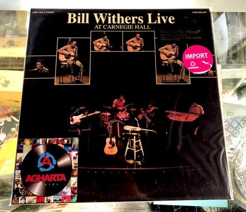Bill Withers Live At Carnegie Hall 2xLP On Vinyl [IMPORT]