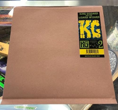 King Gizzard And The Lizard Wizard- K.G. LP On Recycled Black Wax