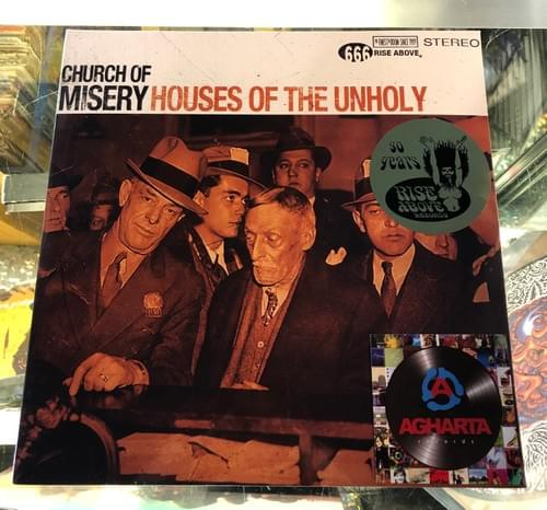 Church Of Misery - Houses Of The Unholy 2xLP On Colored Vinyl [IMPORT}