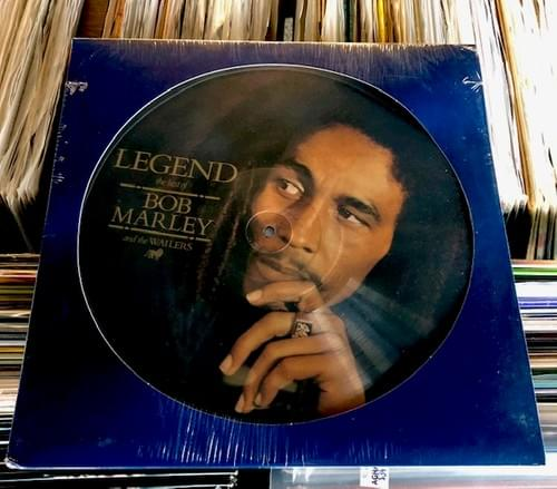 Bob Marley And The Wailers- Legend LP On Black Vinyl, Picture Disc Or Tri-Colored Vinyl[2LP}