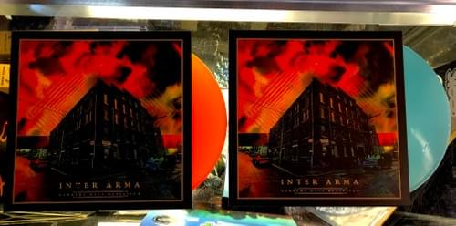 Inter Arma- Garbers Days Revisited LP On Lush Orange Or Electric Blue Vinyl
