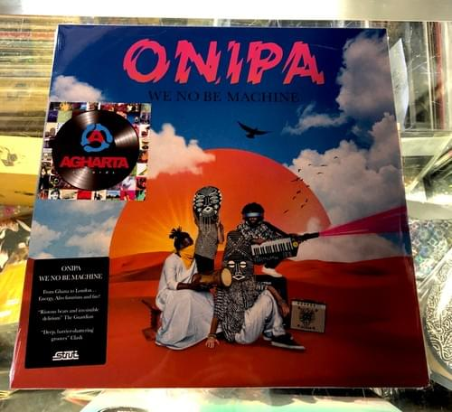 Onipa - We No Be Machine 2XLP On Vinyl
