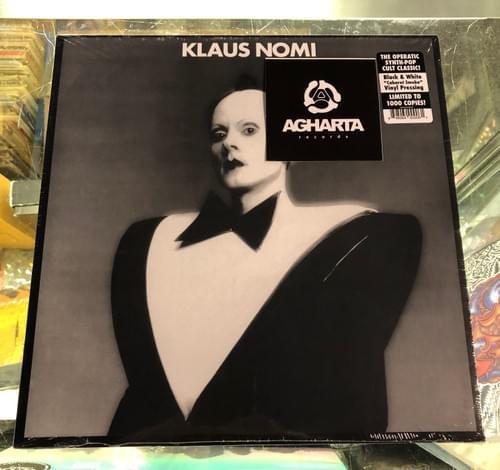 Klaus Nomi - Klaus Nomi (Black & White Cabaret Smoke Vinyl!)