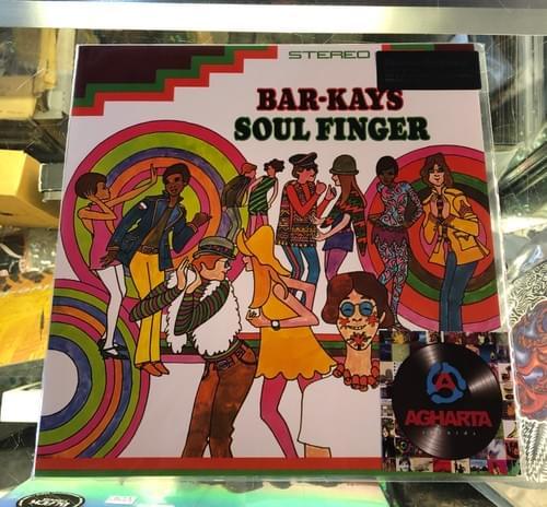 Bar-Kays - Soulfinger LP On Vinyl [IMPORT]