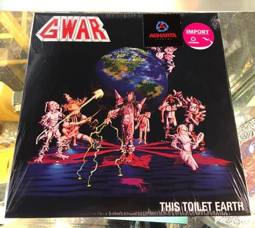 GWAR - This Toilet Earth LP On Vinyl [IMPORT]