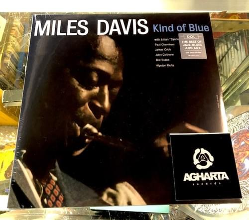 Miles Davis- Kind Of Blue LP On Blue,  Standard Black[IMPORT] Or MONO Pressing