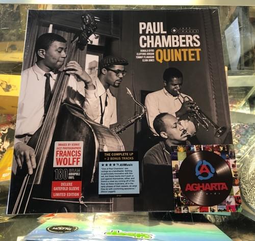 Paul Chambers Quintet - Self Titled LP On Vinyl [IMPORT]