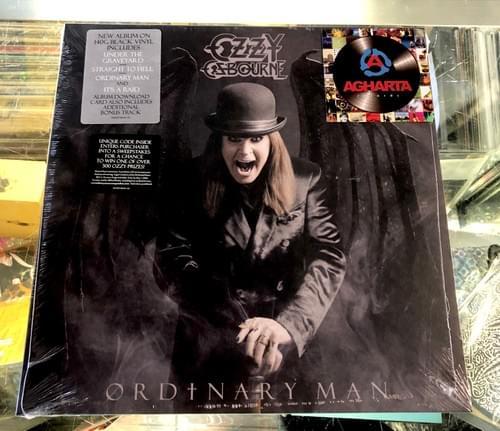 OZZY- Ordinary Man LP On Vinyl