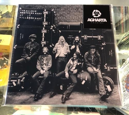 The Allman Brothers Band At Fillmore East 2xLP On Vinyl