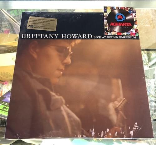Brittany Howard - Live At Sound Emporium on limited edition maroon vinyl RSD 2020