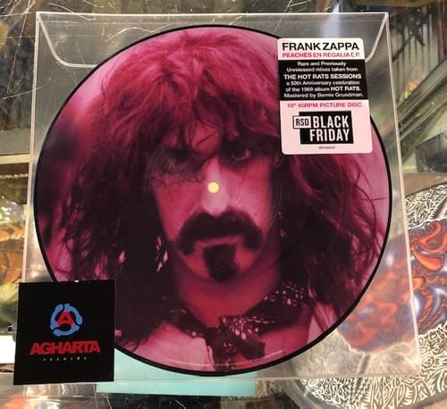 "Frank Zappa- Hot Rats LP On Hot Pink Vinyl,  Solid Black Or 10"" Picture Disc!"